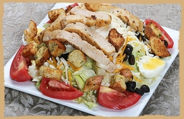 Picture of Grilled Chicken Salad Tray