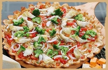 Picture of Californian Pizza-Dawg Bone