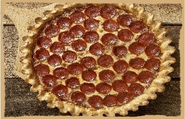 Picture of 9-inch pizza with one topping
